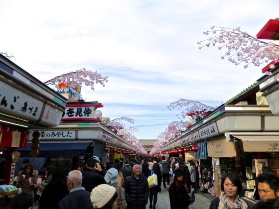 Nakamise street at Asakusa