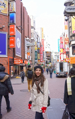 Shibuya side streets