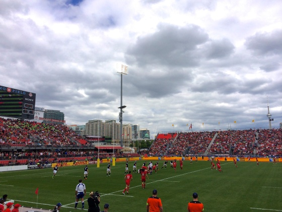Canada vs. Scotland Rugby at BMO Field