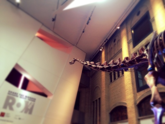Dinosaurs at the ROM