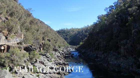 Cataract Gorge, Tasmania, Australia
