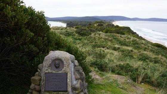 Truganini Memorial, Bruny Island, Tasmania